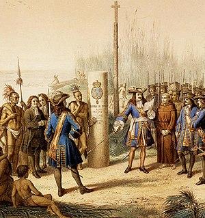 René-Robert Cavelier, Sieur de La Salle - Claiming Louisiana for France