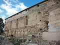 Lateral exterior de l'església de la Mare de Déu dels Àngels, cartoixa de Valldecrist.JPG