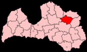 Gulbene District - Image: Latvia Gulbene