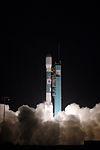Launch of Delta II rocket carrying COSMO-2 (071208-F-9876C-003).jpg