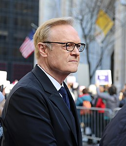 Lawrence O'Donnell at the NYC Women's March on 5th Ave. Jan 21st, 2017.jpg