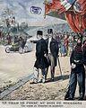 Le Chah de Perse au bois de Boulogne pour la course du kilomètre (septembre 1902).jpg