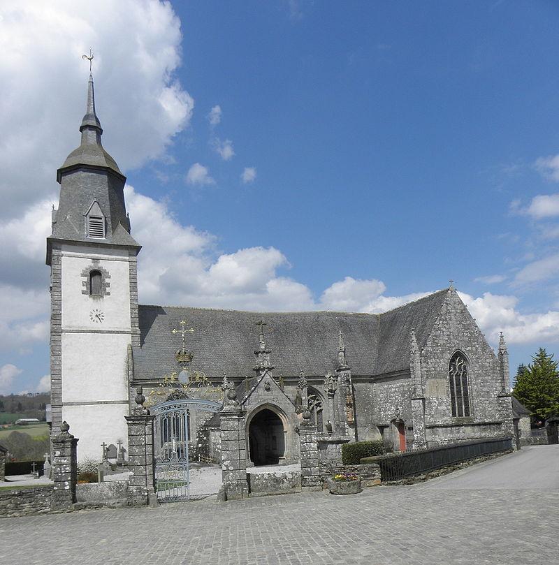 église Notre-Dame à Le Quillo / Commons Wikimédia
