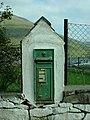 Leenane - A Victorian Postbox - geograph.org.uk - 1016261.jpg