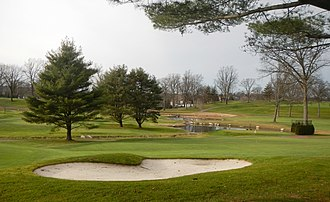 Eastchester (town), New York - Image: Leewood Golf Course East cloudy jeh