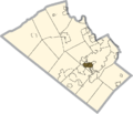 Lehigh county - Dorneyville.png