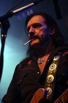Lemmy performing in 2006