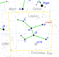Lepus constellation map complemented.png