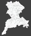 Leskovac, mapa naseljenih mesta, 01.png