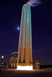 Liberty Memorial By Night