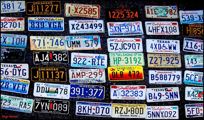 File:License plates (5110908127).jpg