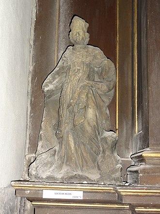 Louis de Blois - wooden sculpture