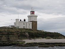 Lighthouse, Coquet Island 1.JPG