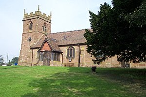 Lilleshall - Image: Lilleshall, Church of St. Michael and All Angels geograph.org.uk 119012