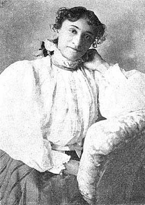 Lillian A. Lewis - Lillian A. Lewis circa 1897