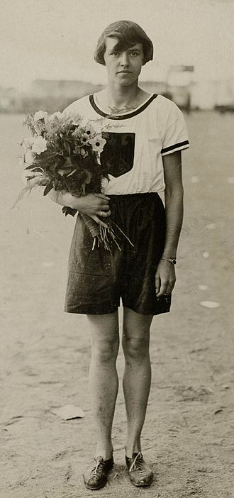 Lina Radke - Lina Radke at the 1928 Summer Olympics