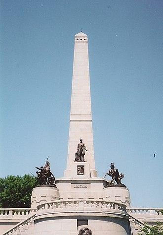 Larkin Goldsmith Mead - Abraham Lincoln's Tomb (ca. 1870–83), Springfield, Illinois.