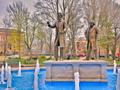 Lincoln vs Douglas Debate Memorial - Washington Park Historic District-Ottawa Illinois.png