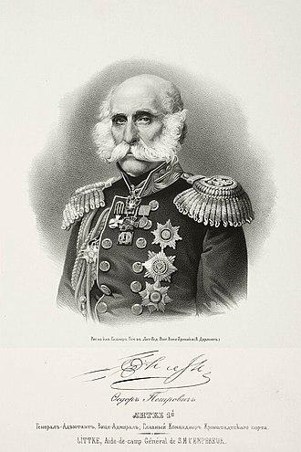 Friedrich von Lütke - Image: Litkefp