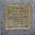 Livorno Via Fiume 2 Franca Baruch plaque 01.JPG