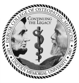 Lincoln Memorial University - Image: Lmudcom seal