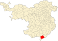 Localización de Lloret de Mar - Gerona.png