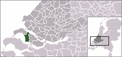 Location of دیرکس‌لاند