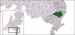 Location of Peel en Maas
