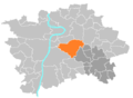 Location map municipal district Prague - Praha 10.PNG