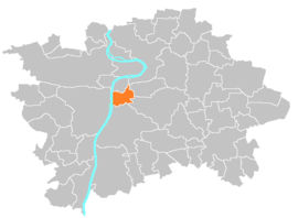 Location map municipal district Prague - Praha 2.PNG
