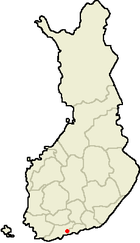 Location of Vantaa in Finland.png