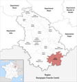 Locator map of Kanton Chalindrey 2019.png
