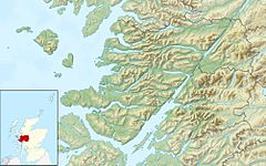 Sanday is located in Lochaber