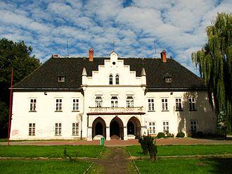 Zbaraski - Image: Lodygowice dwor