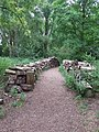 Log wall - geograph.org.uk - 1432123.jpg