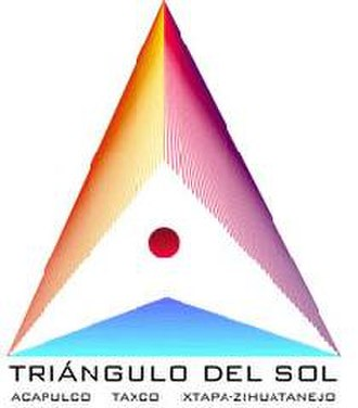 Triangle of the Sun - Image: Logo Triángulo del Sol