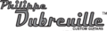 Logo of Philippe Dubreuille Guitars.png
