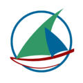 Logo wikiVoyage dhow - 2013 contest (3rd version).png