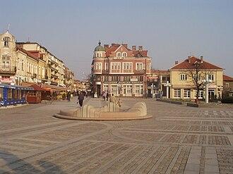 Danube 21 Euroregion - Image: Lom central square