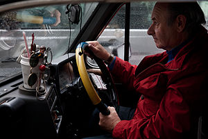 English: A London Cabbie. London, UK