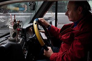 English: A London Cabbie. London, UK