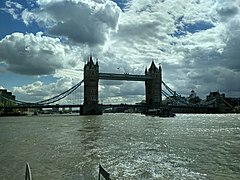London trip 2018 - Tower Bridge from river Thames.jpg