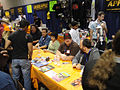 Long Beach Comic & Horror Con 2011 - Simpsons comic creator signing with Tone Rodriguez, Jane Wiedlin, Tom Hodges, and more (6301701856).jpg