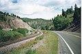 Looking Along Recreation Road, Montana, 1991 02.jpg