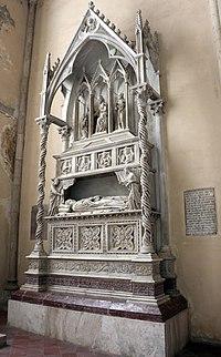Lorenzo maitani (attr.), monumento di benedetto XI, 1305 circa, 01.jpg