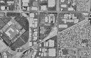 Los Angeles Air Force Base - Aerial photograph of Los Angeles AFB in 1994.