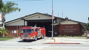 Robert A. Cinader - Los Angeles County Fire Department, Fire Station 127