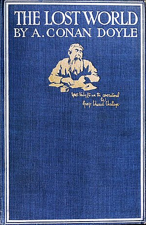 The Lost World (Conan Doyle novel) - Cover of the first edition of The Lost World.
