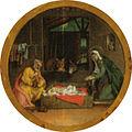 Lotto, madonna del rosario 05 natività.jpg