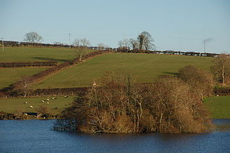 Scheduled monument - Loughbrickland Crannog is a late Bronze Age man-made island.